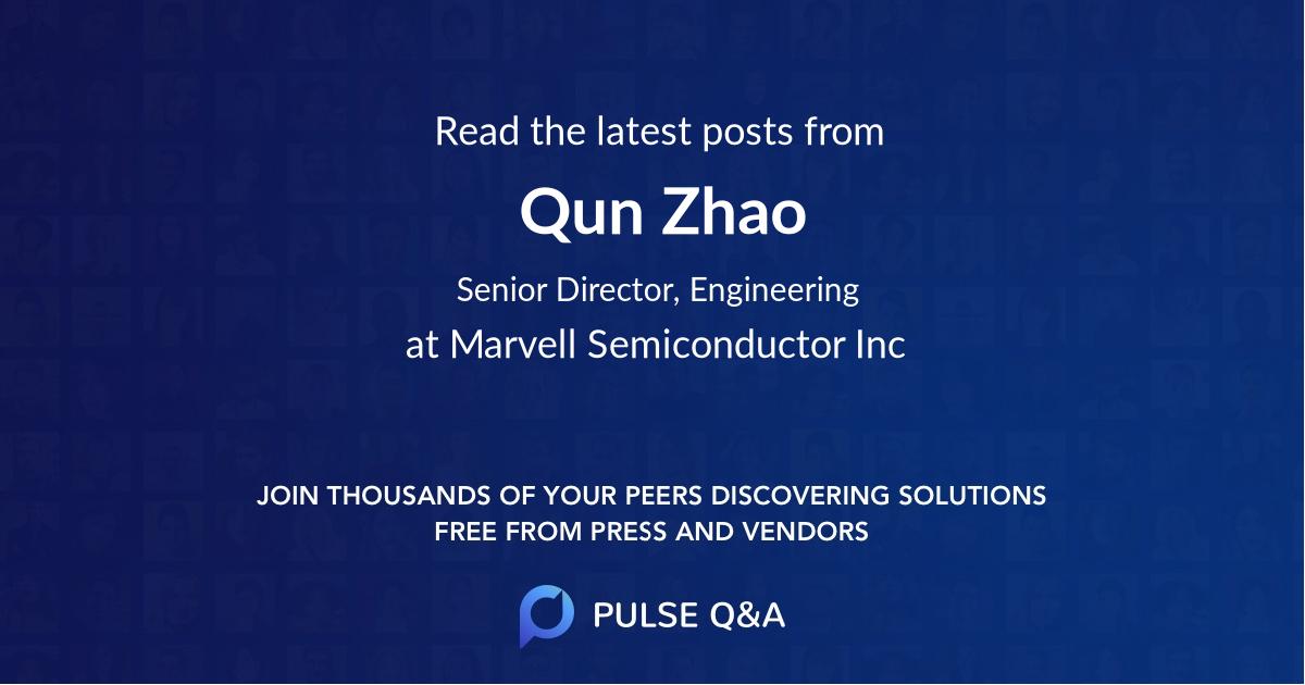Qun Zhao