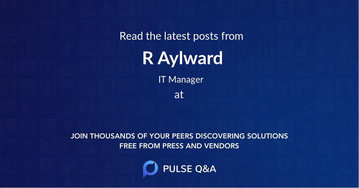 R Aylward