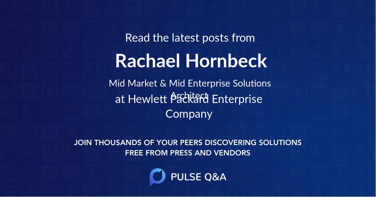Rachael Hornbeck