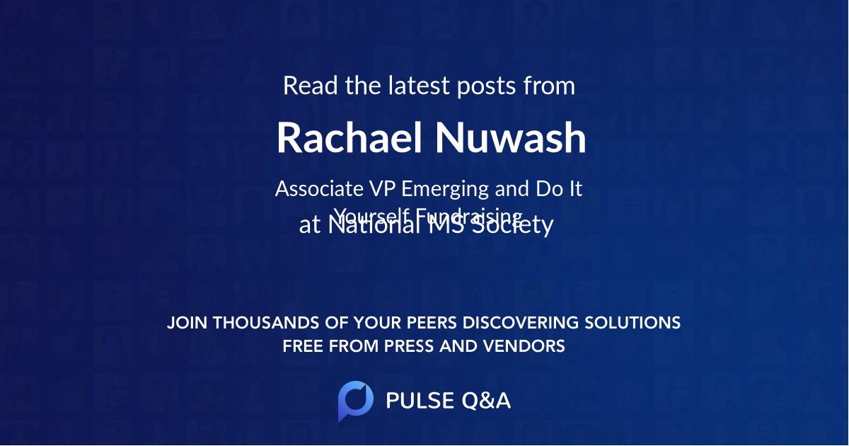Rachael Nuwash