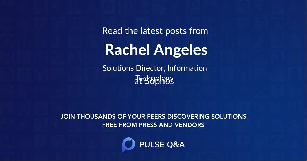 Rachel Angeles