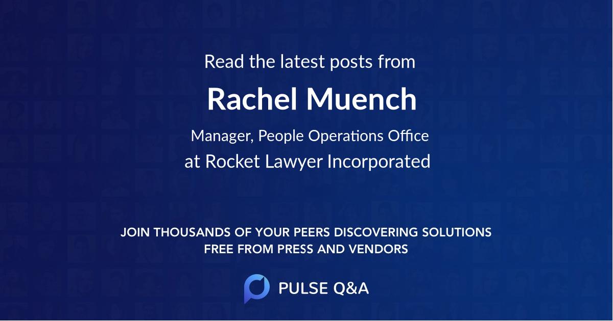 Rachel Muench
