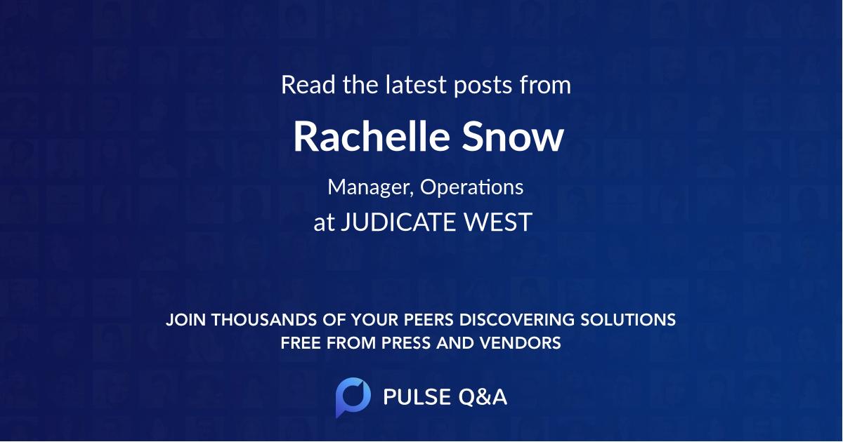 Rachelle Snow