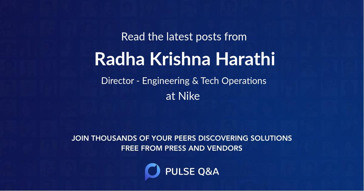 Radha Krishna Harathi