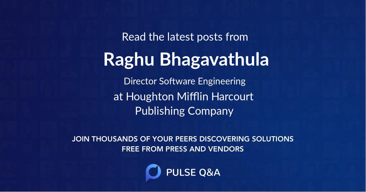 Raghu Bhagavathula