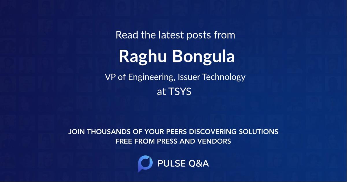 Raghu Bongula