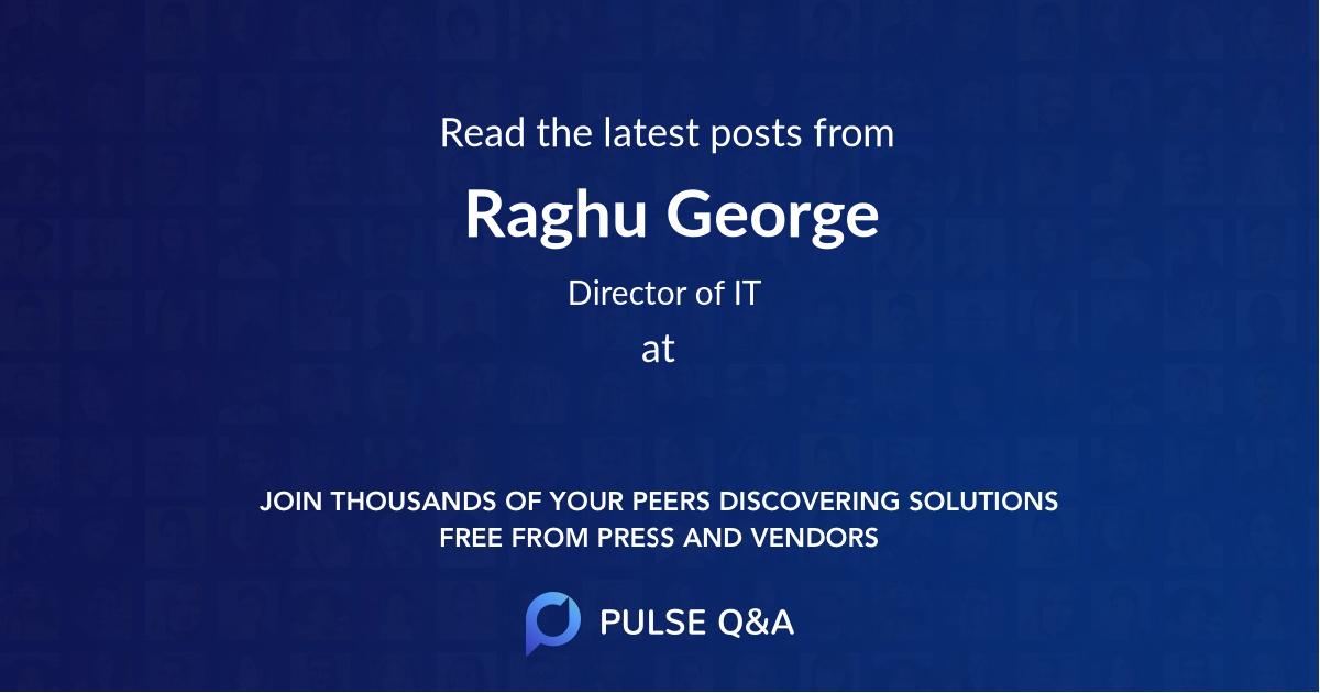 Raghu George