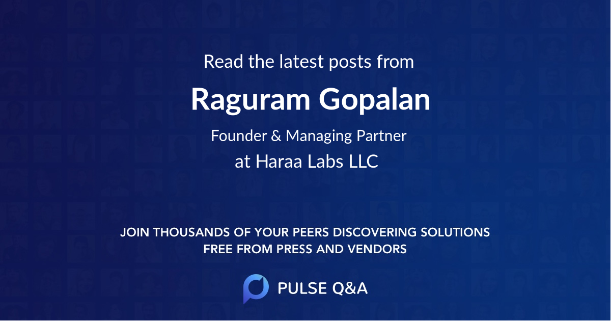 Raguram Gopalan