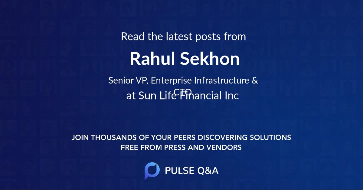Rahul Sekhon