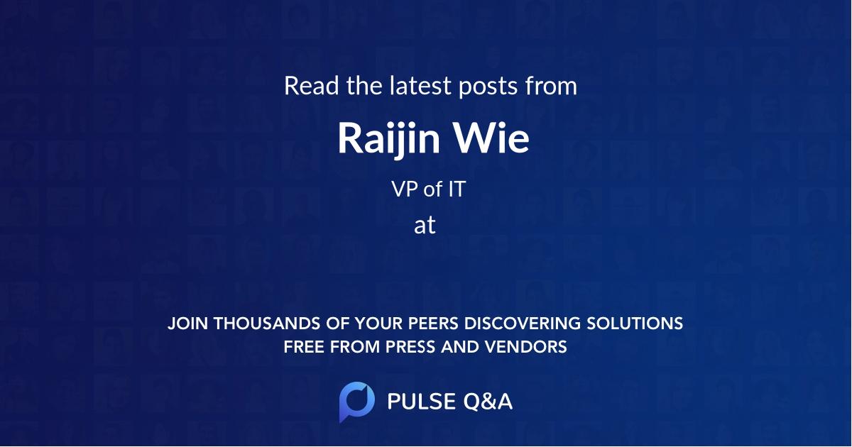 Raijin Wie