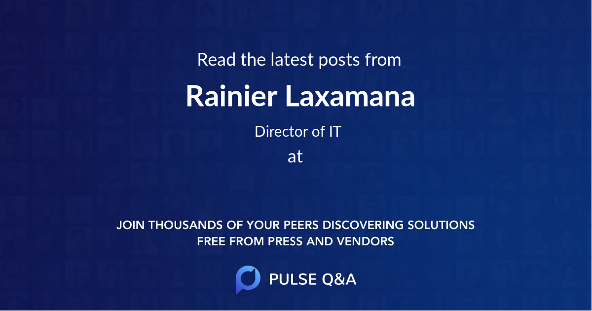 Rainier Laxamana