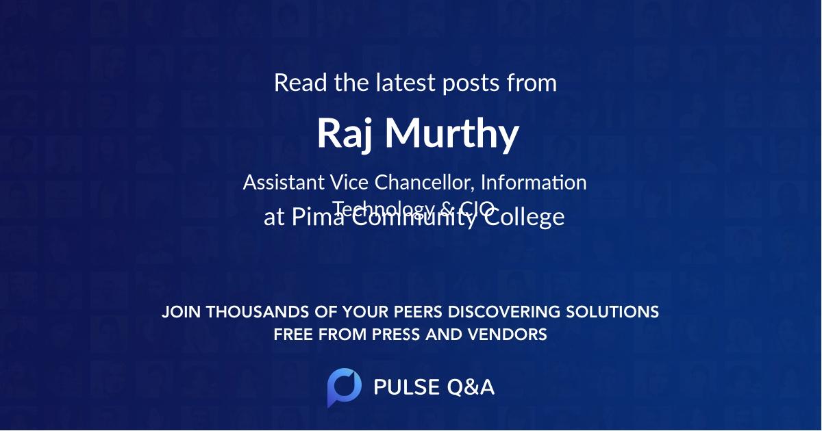 Raj Murthy