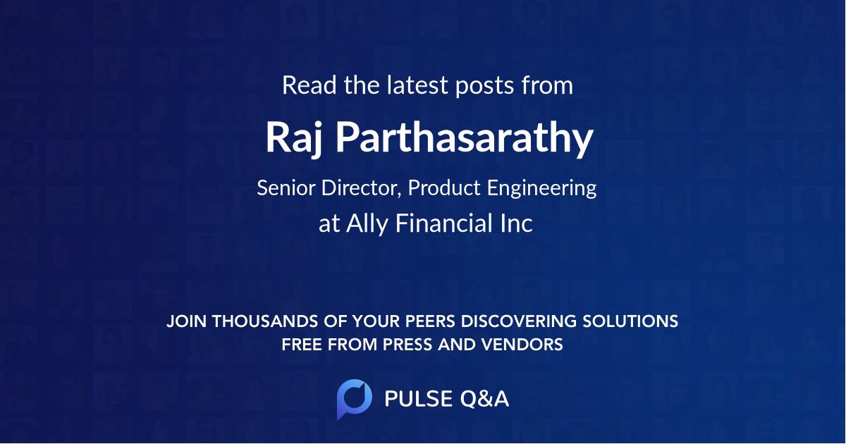 Raj Parthasarathy