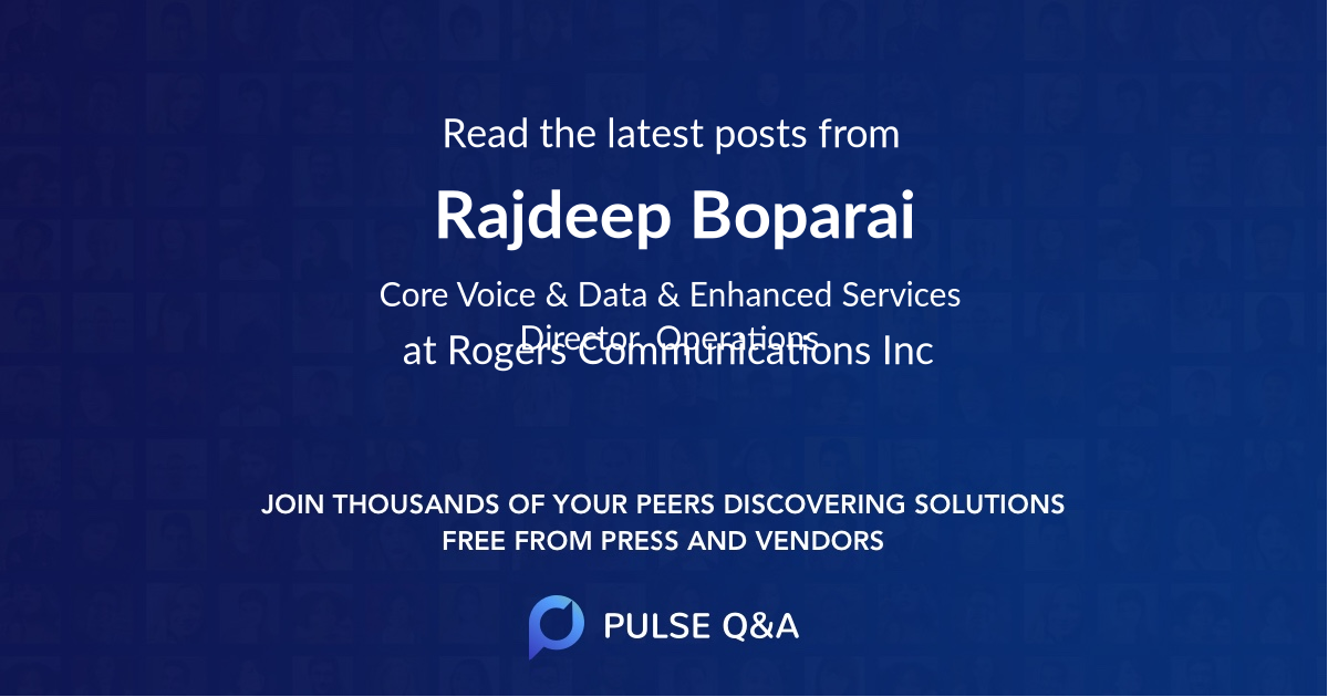 Rajdeep Boparai