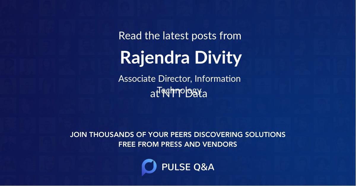 Rajendra Divity