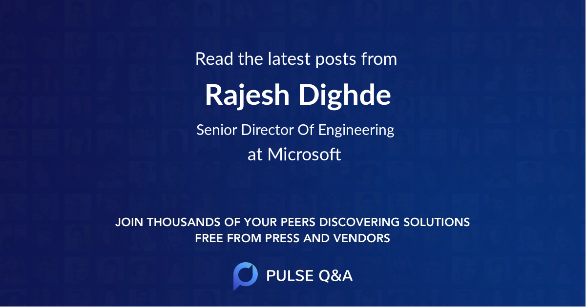 Rajesh Dighde