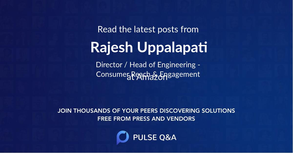 Rajesh Uppalapati
