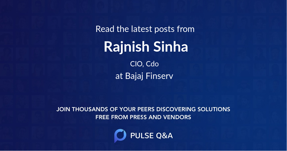 Rajnish Sinha