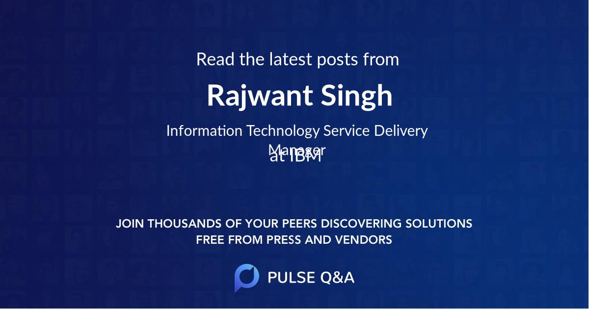 Rajwant Singh