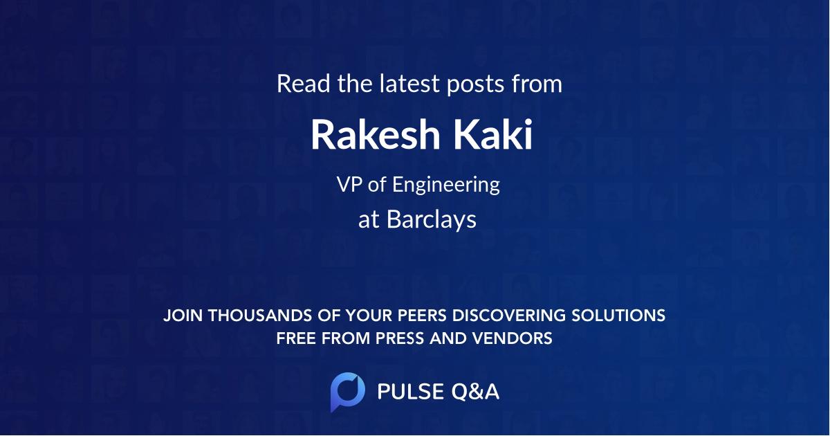 Rakesh Kaki