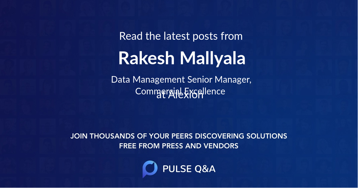 Rakesh Mallyala