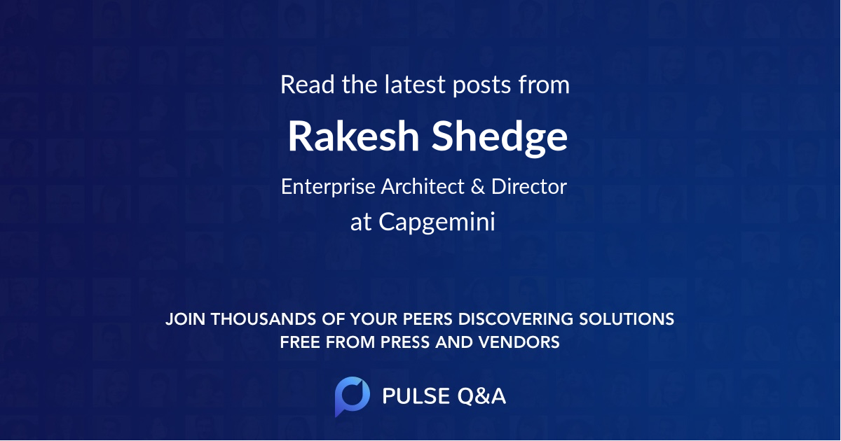Rakesh Shedge