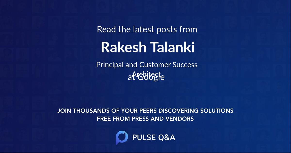 Rakesh Talanki