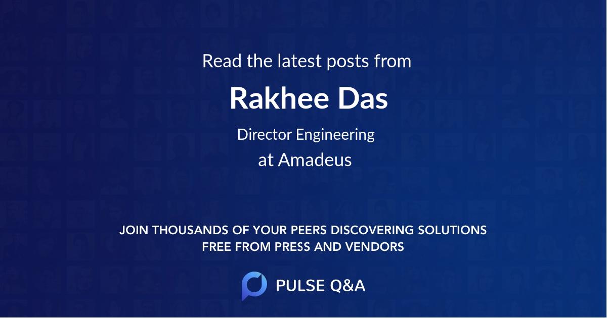 Rakhee Das