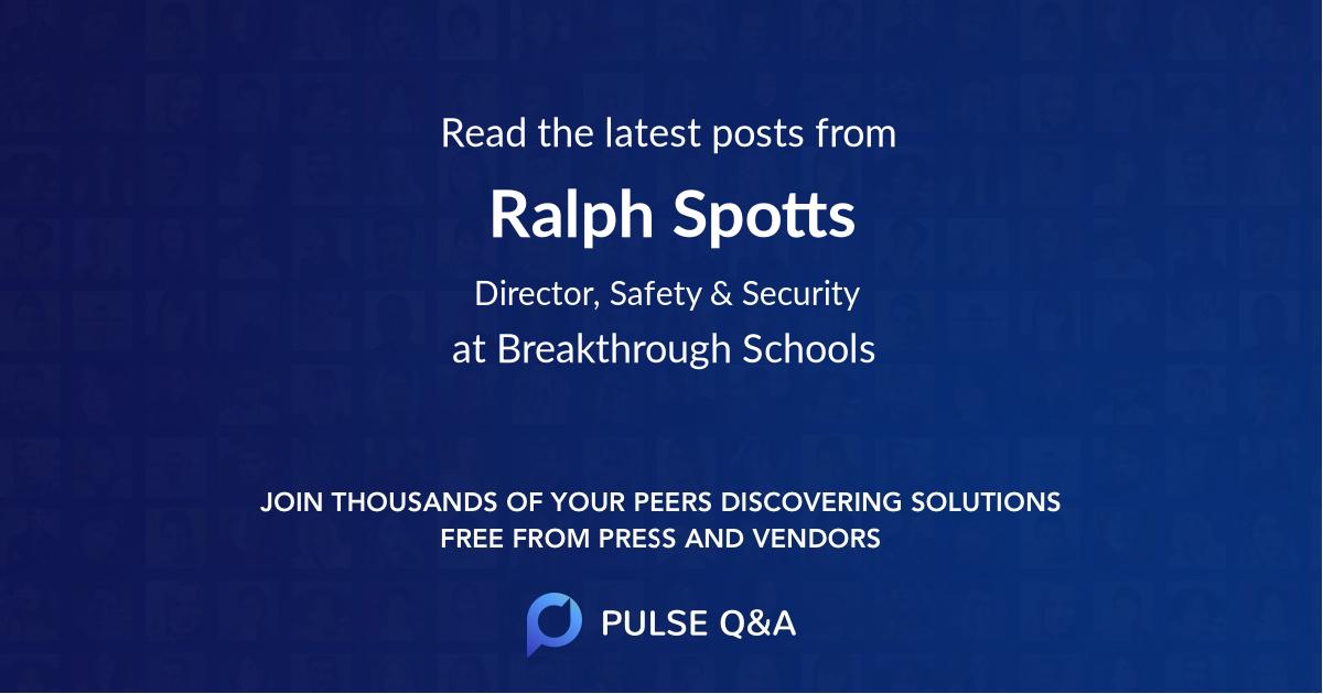 Ralph Spotts
