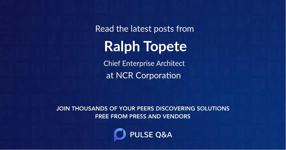 Ralph Topete