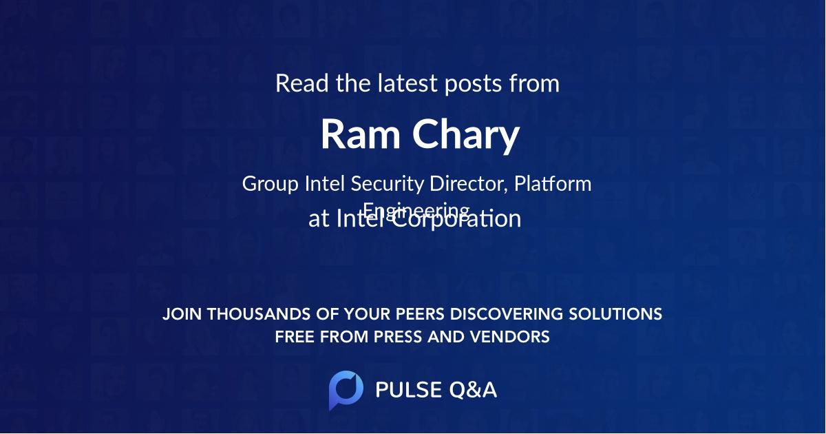 Ram Chary