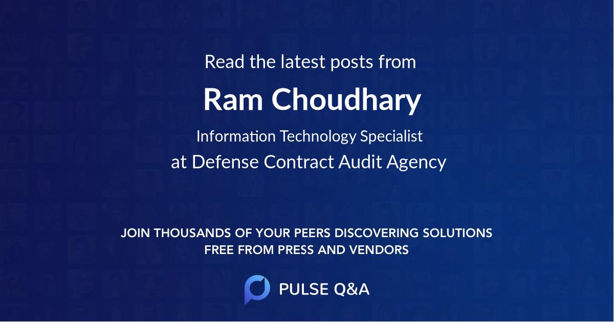 Ram Choudhary
