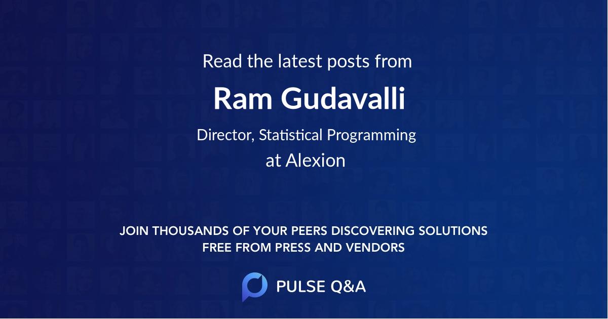 Ram Gudavalli