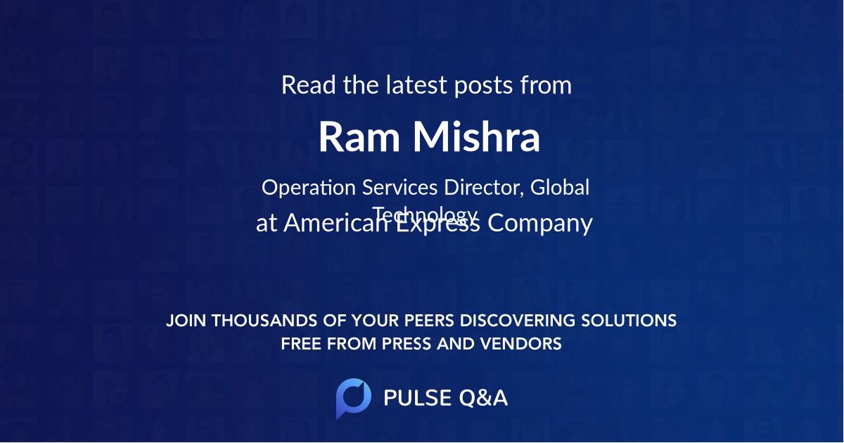 Ram Mishra