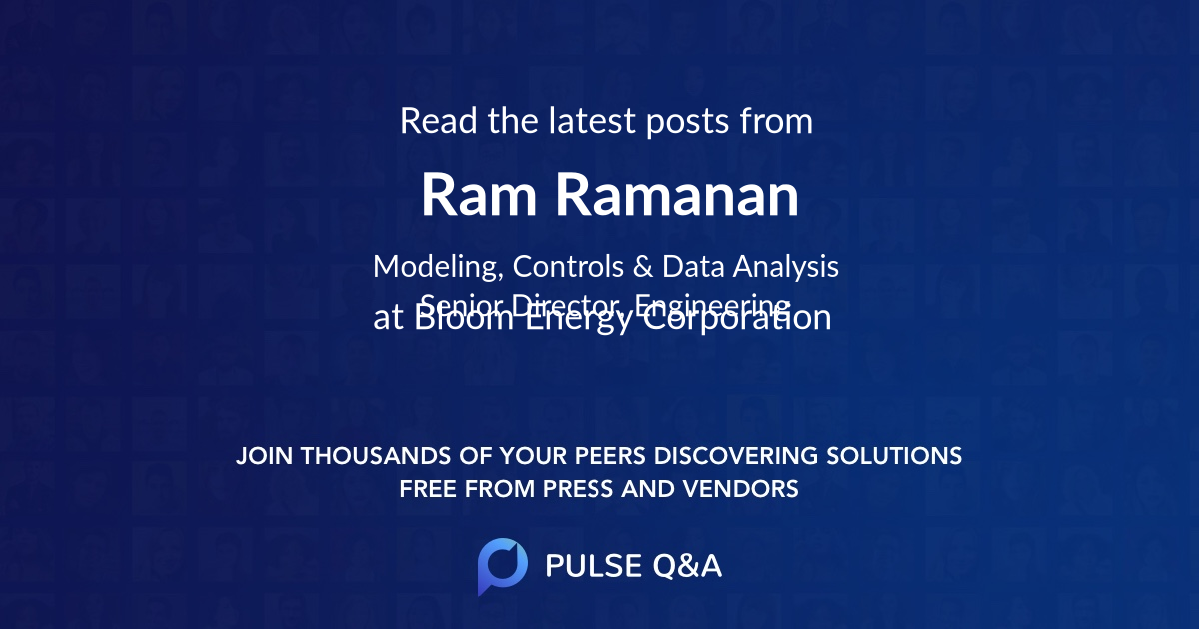 Ram Ramanan