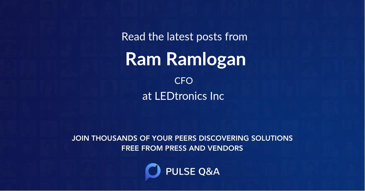 Ram Ramlogan