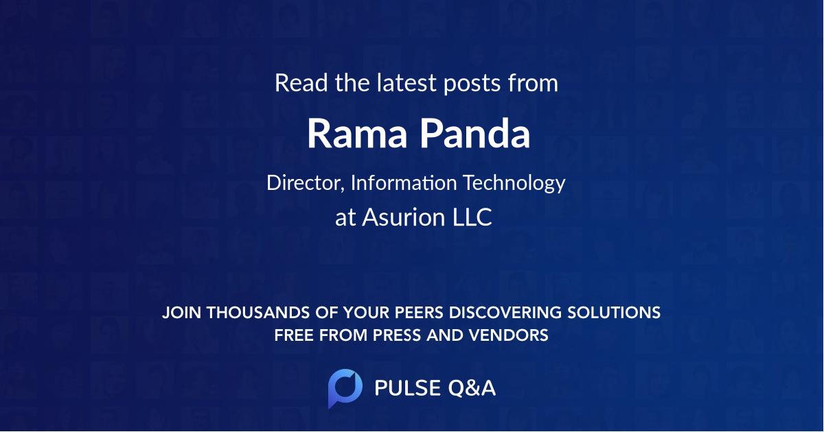 Rama Panda