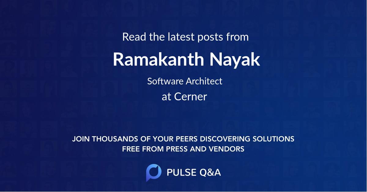 Ramakanth Nayak