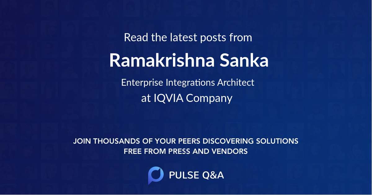 Ramakrishna Sanka