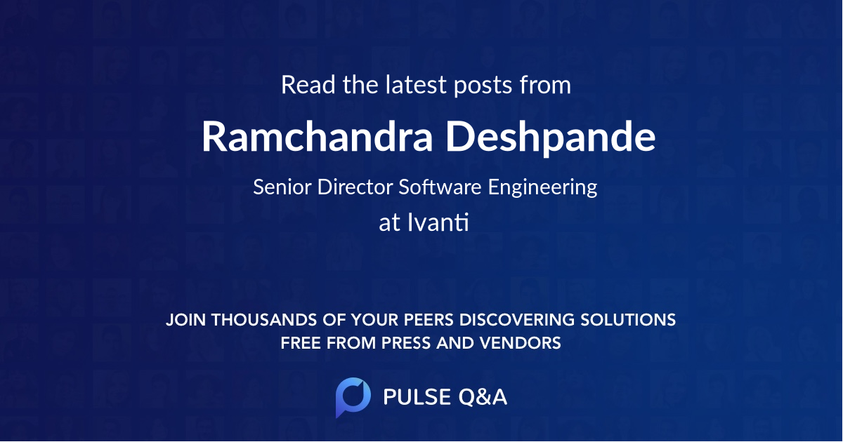 Ramchandra Deshpande