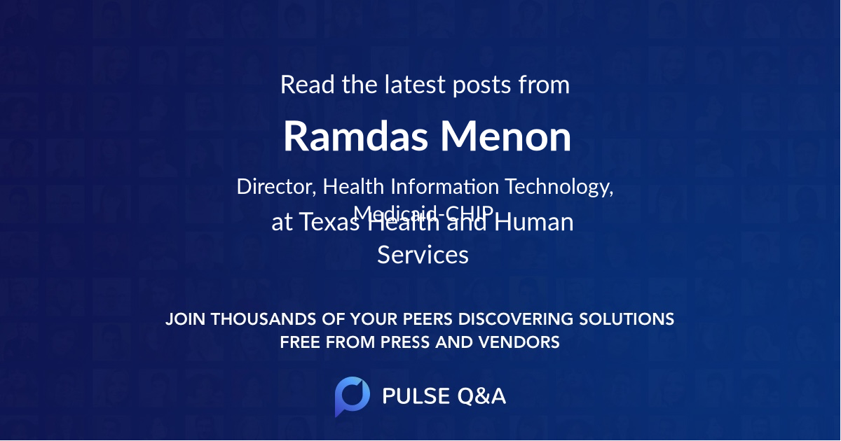 Ramdas Menon