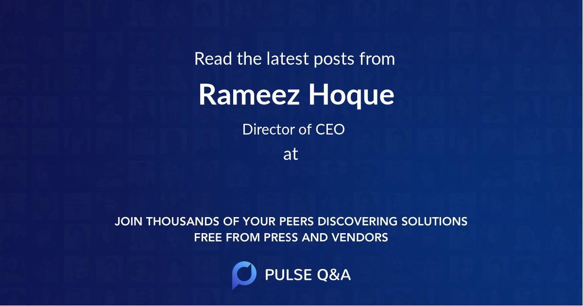 Rameez Hoque