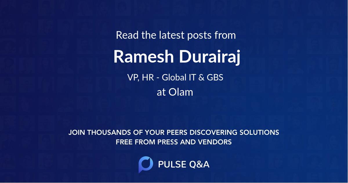 Ramesh Durairaj
