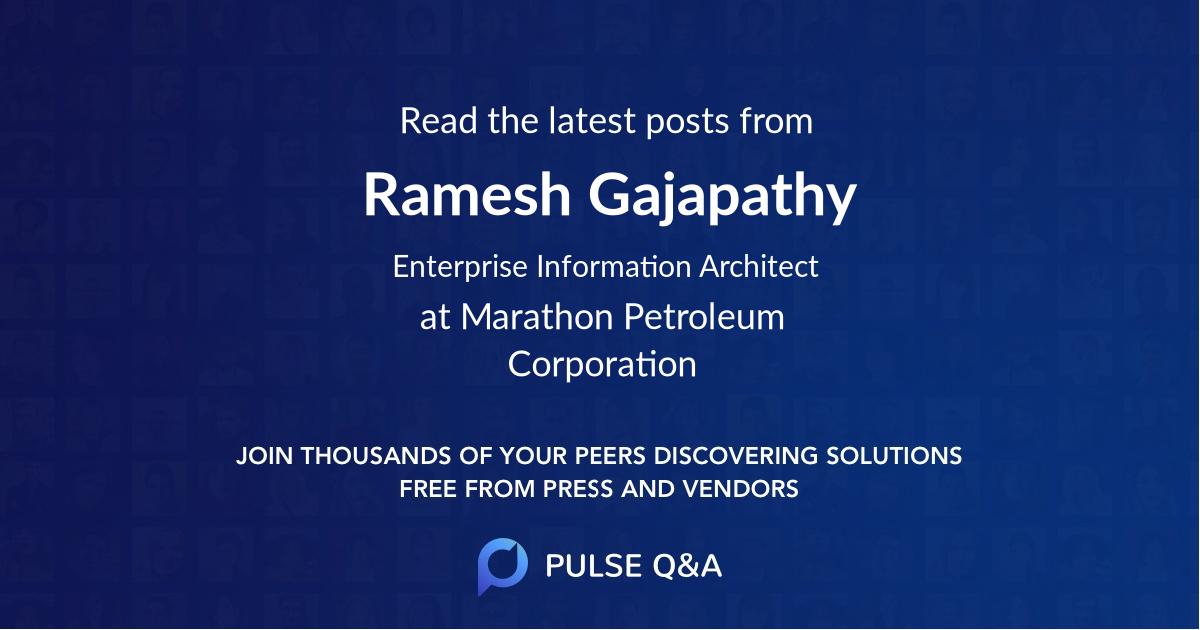 Ramesh Gajapathy