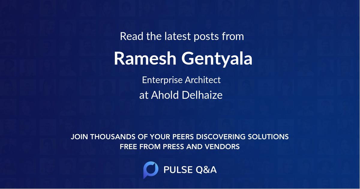 Ramesh Gentyala
