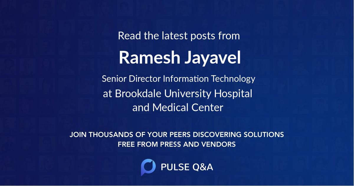 Ramesh Jayavel