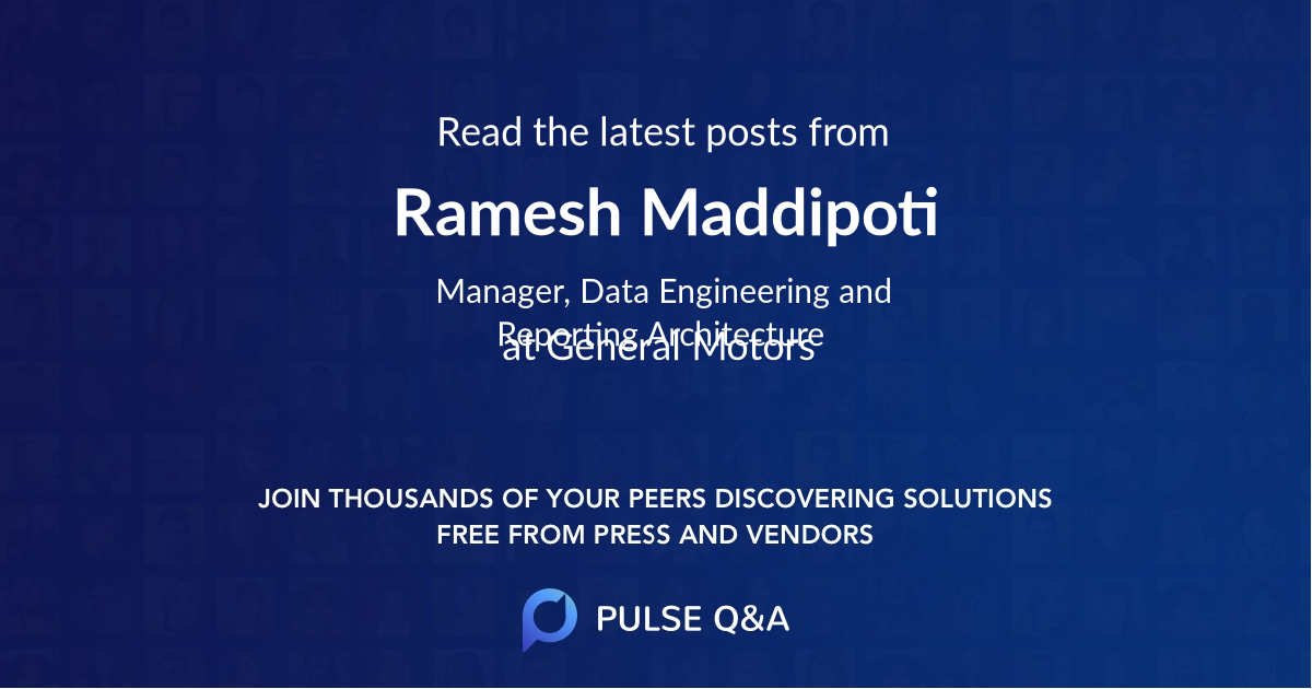 Ramesh Maddipoti