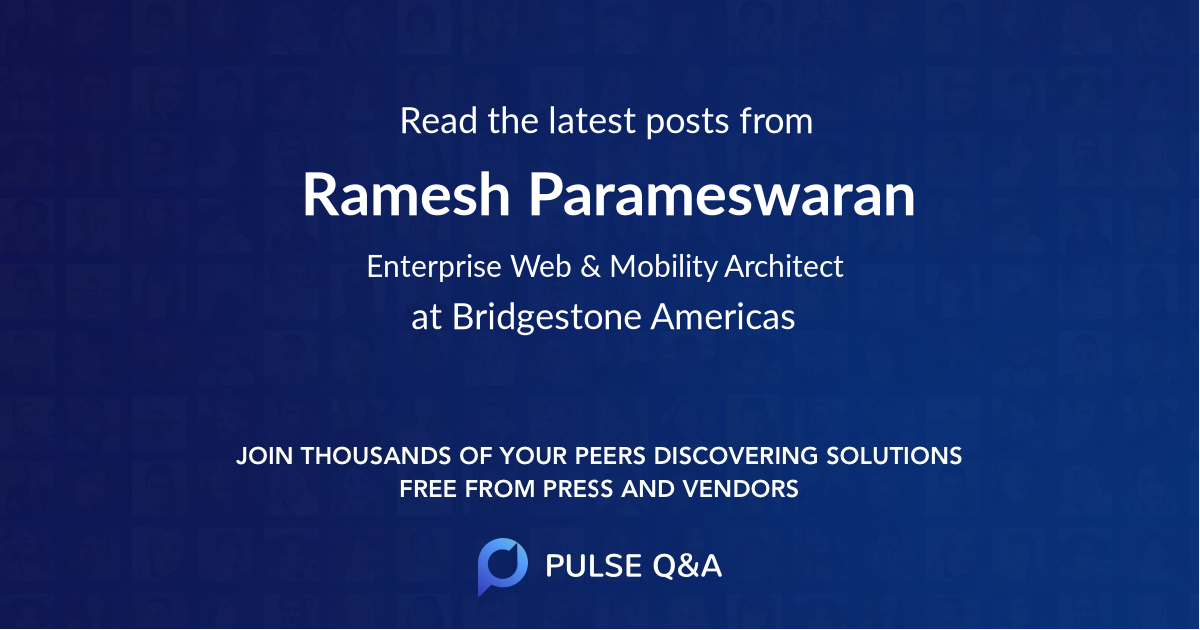Ramesh Parameswaran