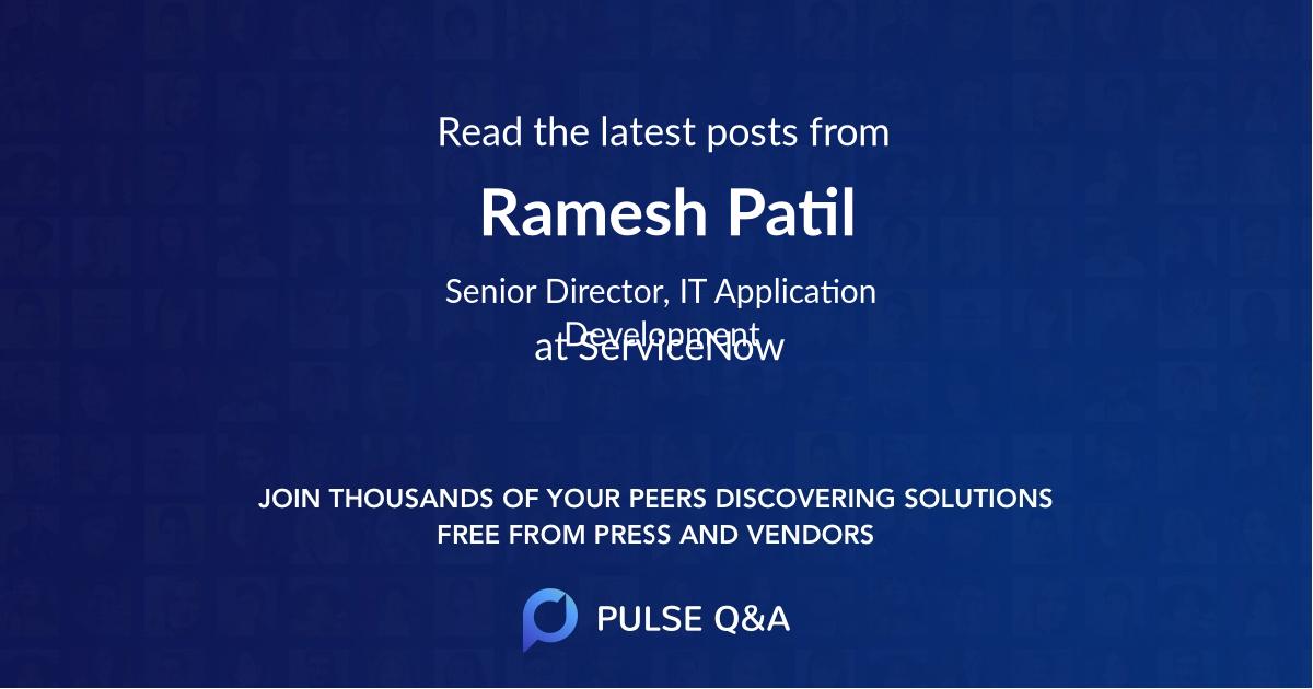 Ramesh Patil