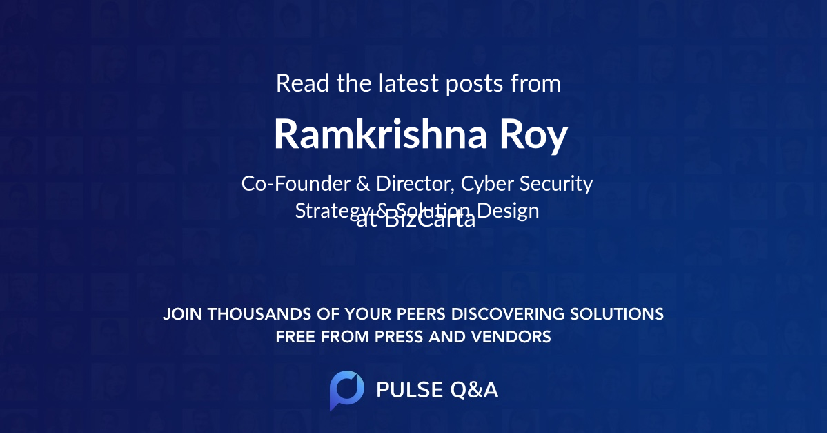 Ramkrishna Roy